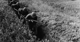 Walka w okopach, ćwiczenia drużyny piechoty