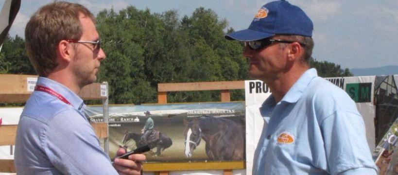 Biznes jeździecki, Gyula Meszaros wywiad - zdjęcie, fotografia
