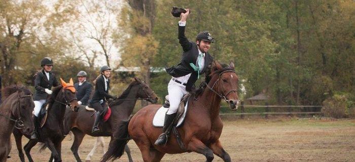 Imprezy jeździeckie, Jesień – sezon Hubertusów - zdjęcie, fotografia