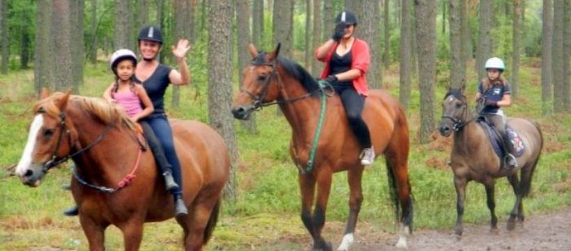 Ośrodki jeździeckie, Miłośnicy - zdjęcie, fotografia