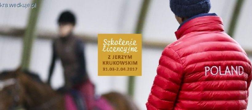 PZJ, Szkolenie licencyjne Jerzym Krukowskim Stajnia ISKRA Sztumskie - zdjęcie, fotografia