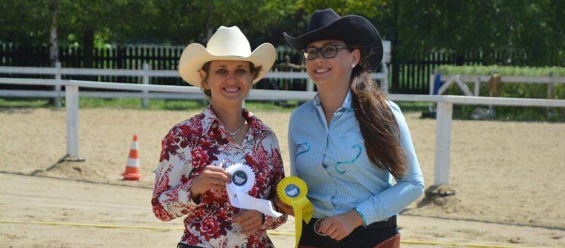 Zawody jeździeckie, Sukcesy sióstr Kubiak zawodach jeździeckich westernowych - zdjęcie, fotografia