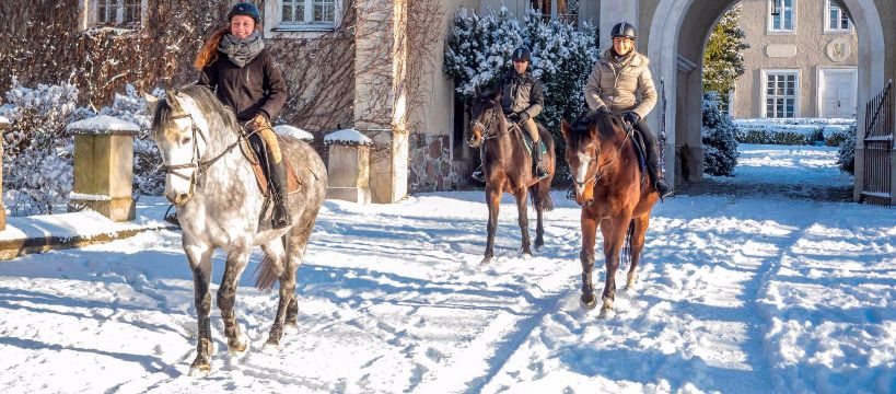 Jazda konna, Konno mazurskich bezdrożach - zdjęcie, fotografia