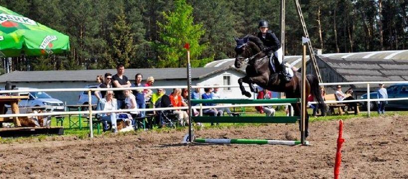 Targi i wystawy jeździeckie, Regionalne Towarzyskie Zawody Skokach przez Przeszkody Stajnia Iskra - zdjęcie, fotografia