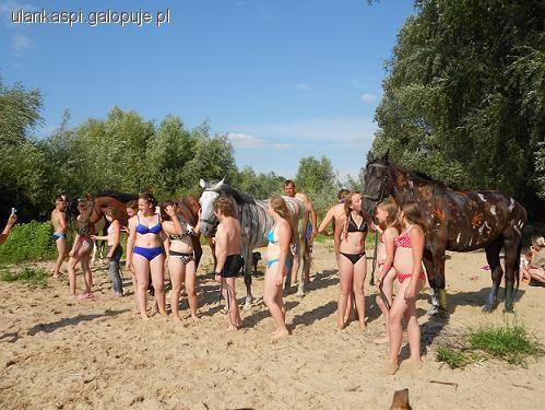 Obozy jeździeckie, Letni obóz jeździecki Stajnia Pasja Popów - zdjęcie, fotografia