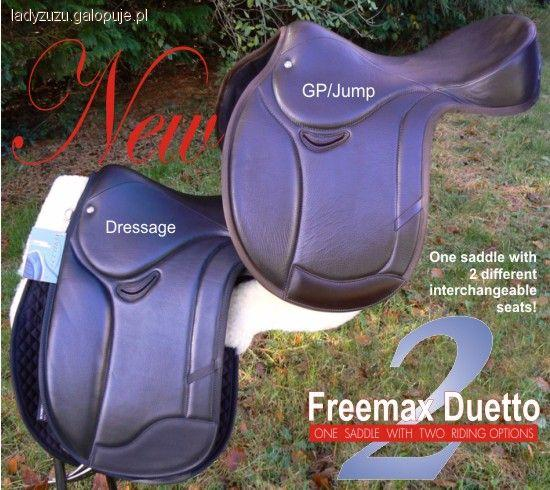 Sprzęt jeździecki, Siodła bezterlicowe ciekawe rozwiązanie - zdjęcie, fotografia