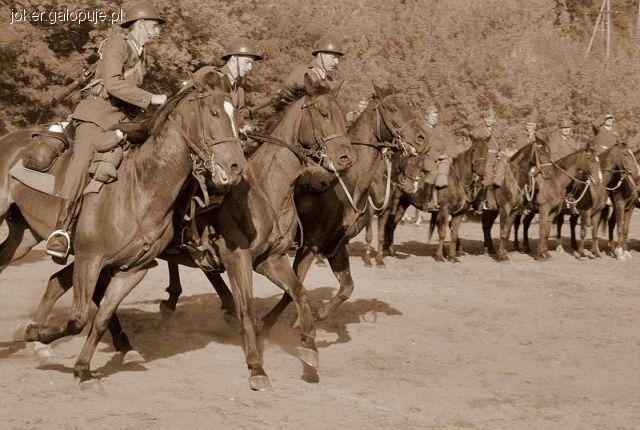 Targi i wystawy jeździeckie, rocznica powstania Pułku Strzelców Konnych - zdjęcie, fotografia