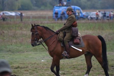 Imprezy jeździeckie, Konie historii kawaleria - zdjęcie, fotografia