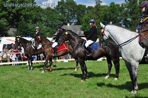 Imprezy jeździeckie, Zawody jeździeckie Łopusznej - zdjęcie, fotografia