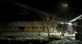 Pożar stadniny w Korzkiewie - 11 koni nie żyje