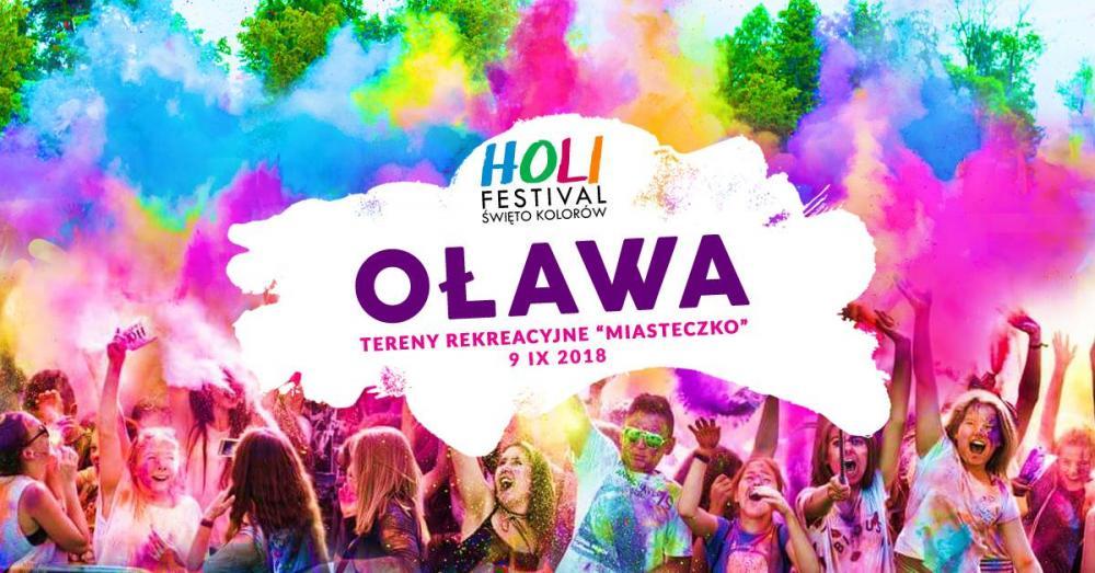 Imprezy, Festival Święto Kolorów Oławie - zdjęcie, fotografia