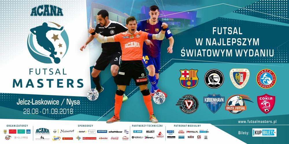 Futsal, niedługo Futsal Masters - zdjęcie, fotografia