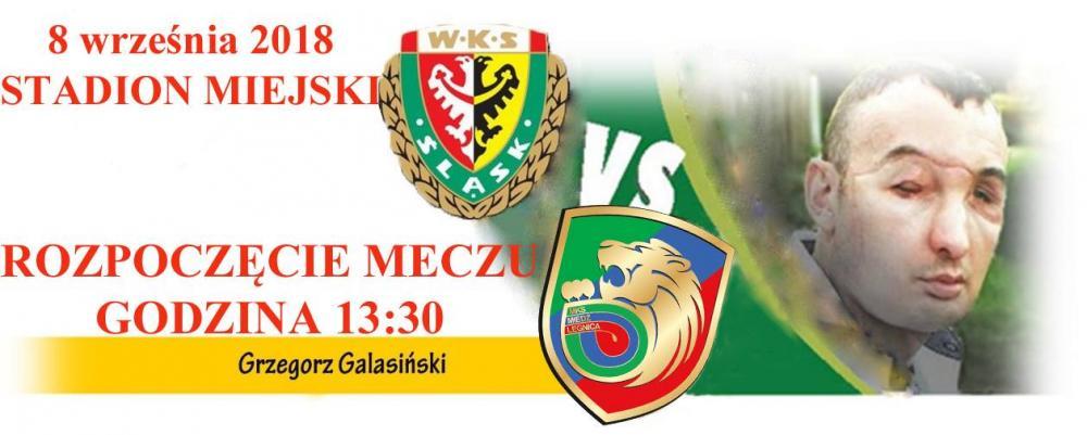 Piłka nożna, Charytatywny Śląsk Wrocław Miedź Legnica - zdjęcie, fotografia