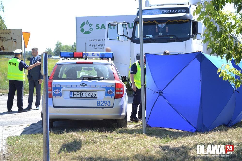 Wypadki drogowe, Śmiertelne potrącenie Ofiar Katynia - zdjęcie, fotografia