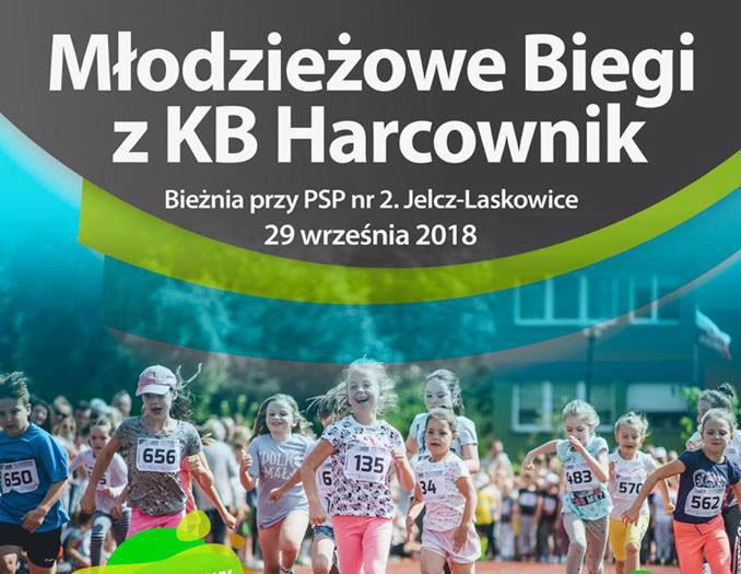 Bieganie, Młodzieżowe biegi Harcownik - zdjęcie, fotografia