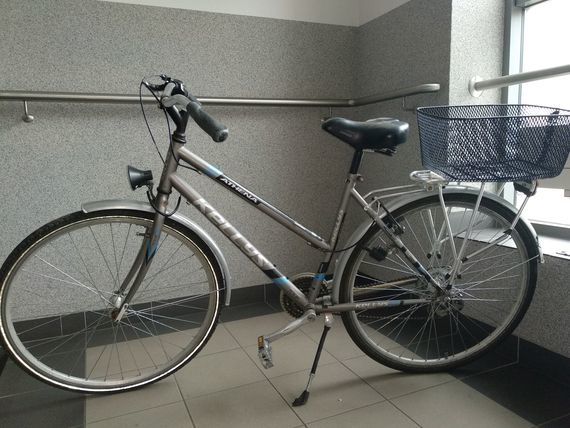 Znalezione, Policja znalazła rower teraz szuka właściciela - zdjęcie, fotografia