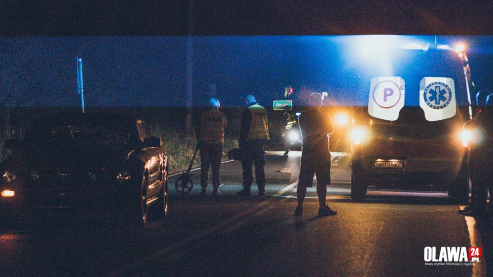 Kronika policyjna, Śmiertelne potrącenie Nowym Otoku - zdjęcie, fotografia