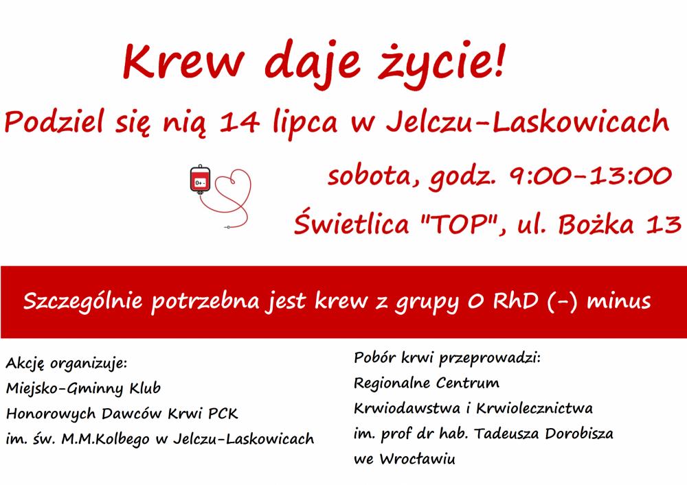 Gmina Jelcz-Laskowice, Druga akcja krwiodawstwa Jelczu Laskowicach - zdjęcie, fotografia