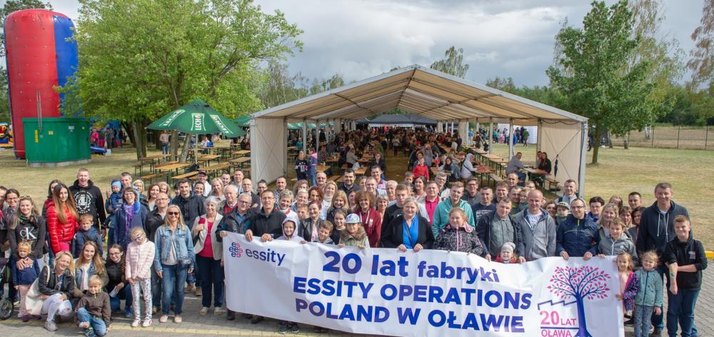 Biznes, fabryki Essity Oławie - zdjęcie, fotografia
