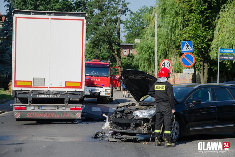 Wypadki drogowe, ustąpił pierwszeństwa skrzyżowaniu - zdjęcie, fotografia