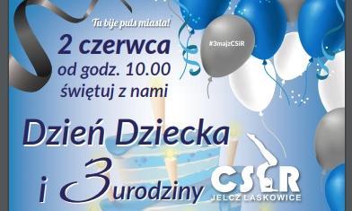 Imprezy, Trzecie urodziny Dzień Dziecka - zdjęcie, fotografia