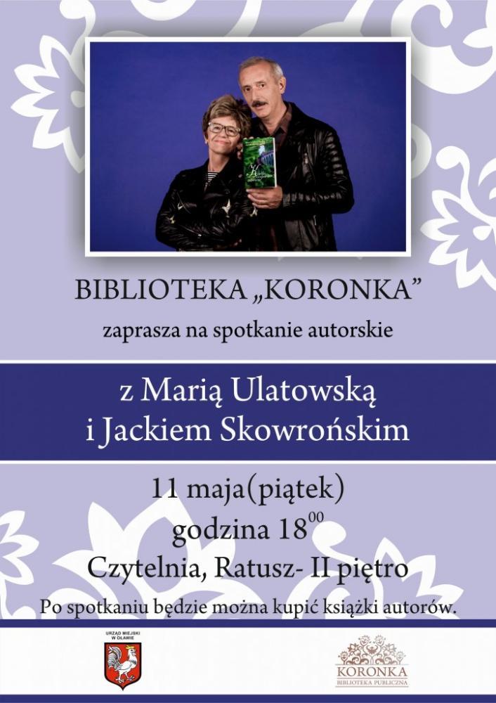 Wernisaże spotkania, Maria Ulatowska Jacek Skowroński Oławie - zdjęcie, fotografia