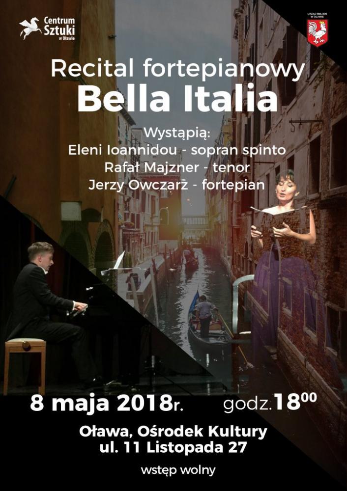 Spektakle, Spotkanie klasyką Recital Bella Italia - zdjęcie, fotografia
