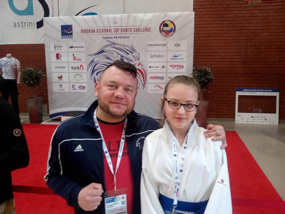 Sztuki walki, Srebrny medal Weroniki Ceglarek Soluch - zdjęcie, fotografia