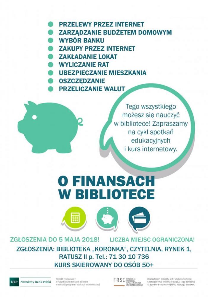 Gmina Oława, finansach bibliotece Dlaczego - zdjęcie, fotografia