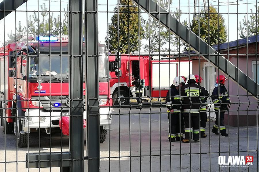 Pożary, Wybuch cysterny Domaniowie - zdjęcie, fotografia