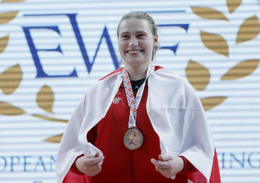 Ciężary, Oławianka medalem Mistrzostw Europy! - zdjęcie, fotografia