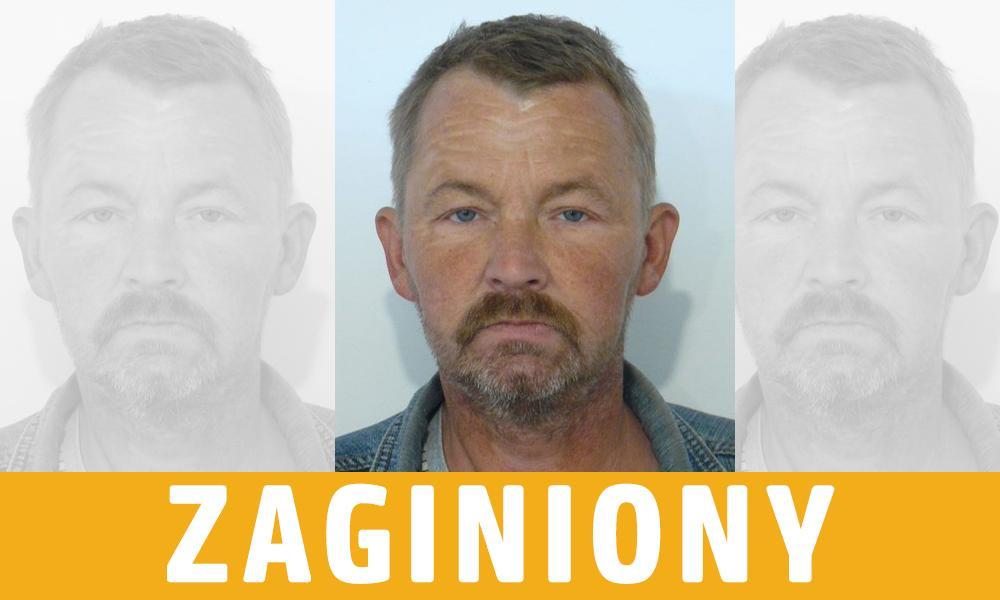Zagionione, Zaginiony Robert Sawicki poszukiwany przez policję - zdjęcie, fotografia