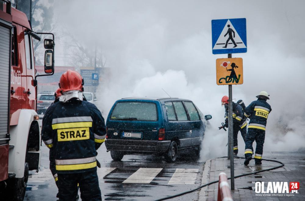 Pożary, Pożar ulicy Broniewskiego - zdjęcie, fotografia