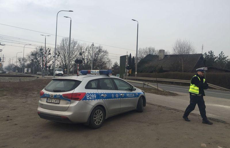 Akcje, Przejazdy kontrolą policji kierowców ukaranych mandatem - zdjęcie, fotografia