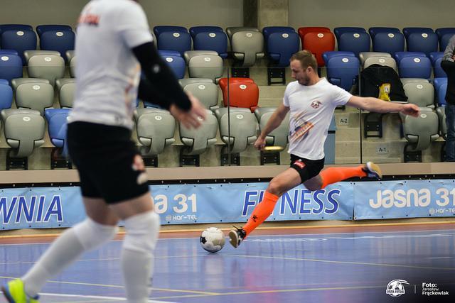 Futsal, Orzeł remisuje pierwszy sezonie - zdjęcie, fotografia