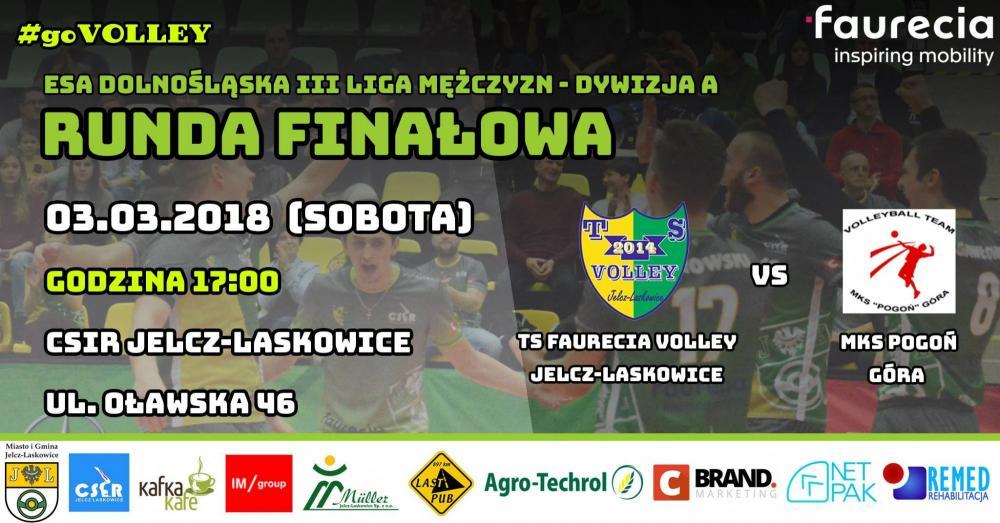 Siatkówka, Runda finałowa Faurecia Volley Pogoń Góra - zdjęcie, fotografia