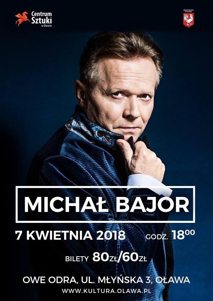 Koncerty, Michał Bajor recitalem Oławie - zdjęcie, fotografia