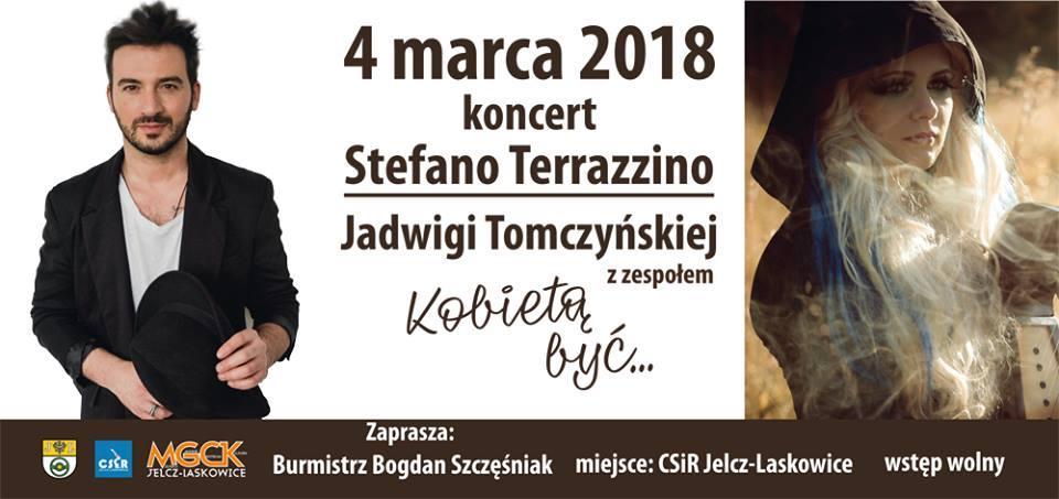Koncerty, Stefano Terrazzino kobiet Jelczu Laskowicach - zdjęcie, fotografia