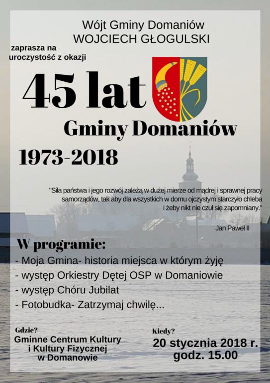 Gmina Domaniów, Gminy Domaniów - zdjęcie, fotografia