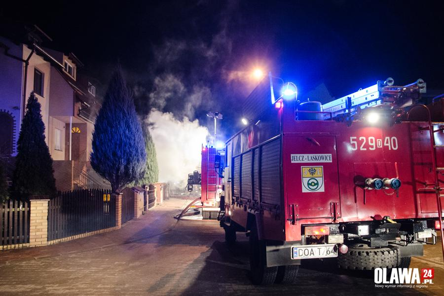 Pożary, Pożar Placu Słonecznikowym - zdjęcie, fotografia