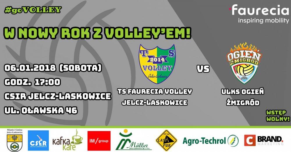 Siatkówka, Faurecia Volley zagra Ogień Żmigród - zdjęcie, fotografia