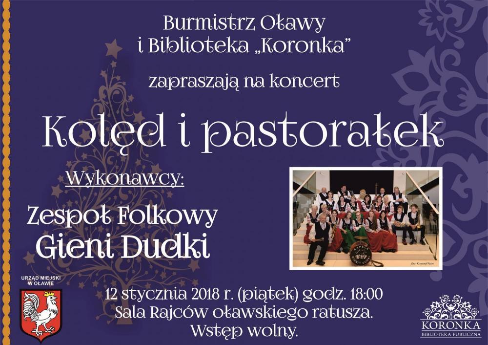 Koncerty, Zespół Folkowy wykona koncert kolęd pastorałek - zdjęcie, fotografia