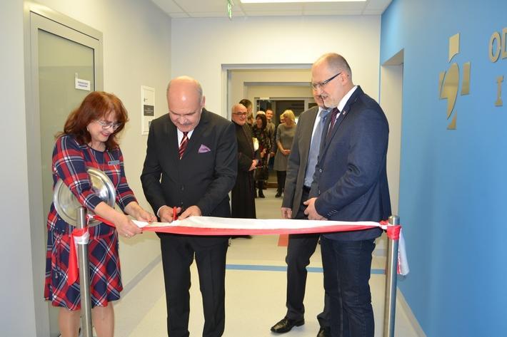Zdrowie i szpital, Otwarto oddział Anestezjologii Intensywnej Terapii oławskim szpitalu - zdjęcie, fotografia