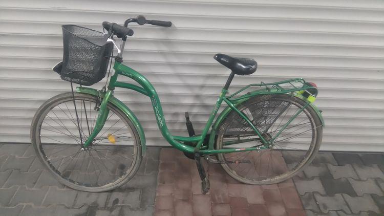 Znalezione, Właściciel roweru poszukiwany - zdjęcie, fotografia