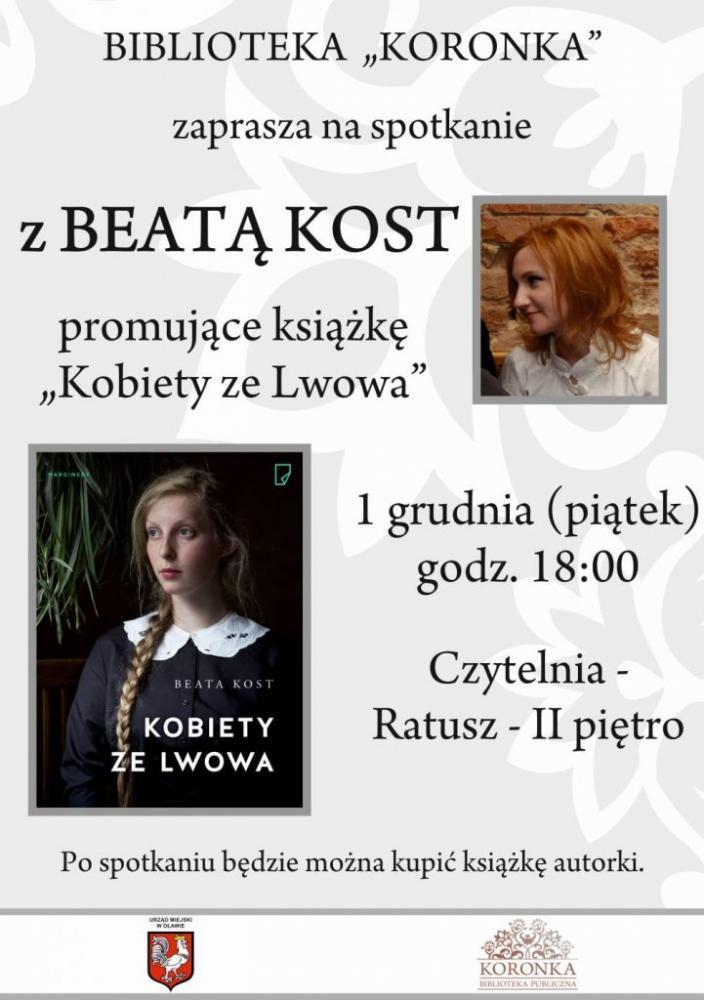 Wernisaże spotkania, Spotkanie Beatą polską dziennikarką Lwowa - zdjęcie, fotografia