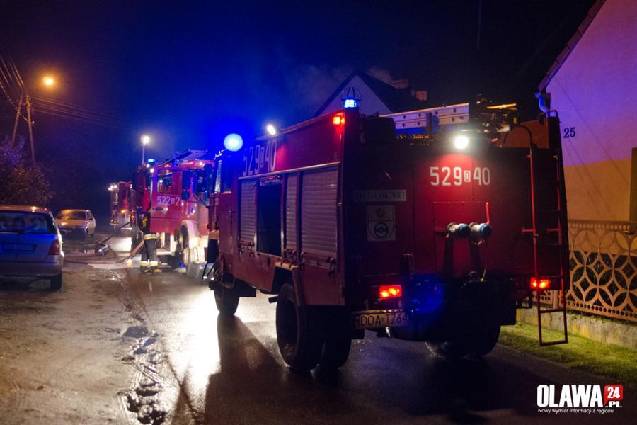 Pożary, Pożar lakierni Ogrodowej - zdjęcie, fotografia