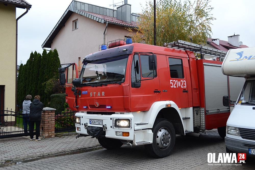 Pożary, Pożar Wyspiańskiego - zdjęcie, fotografia
