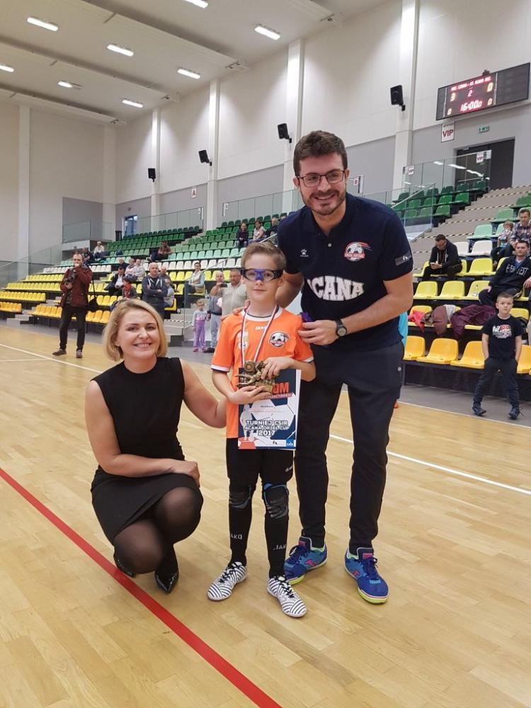 Piłka nożna, Adepci piłki nożnej futsalu rywalizowali Jelczu Laskowicach - zdjęcie, fotografia