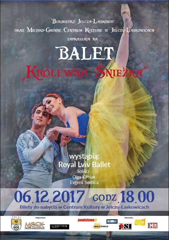 Spektakle, Mikołajkowy spektakl baletowy Królewna Śnieżka - zdjęcie, fotografia