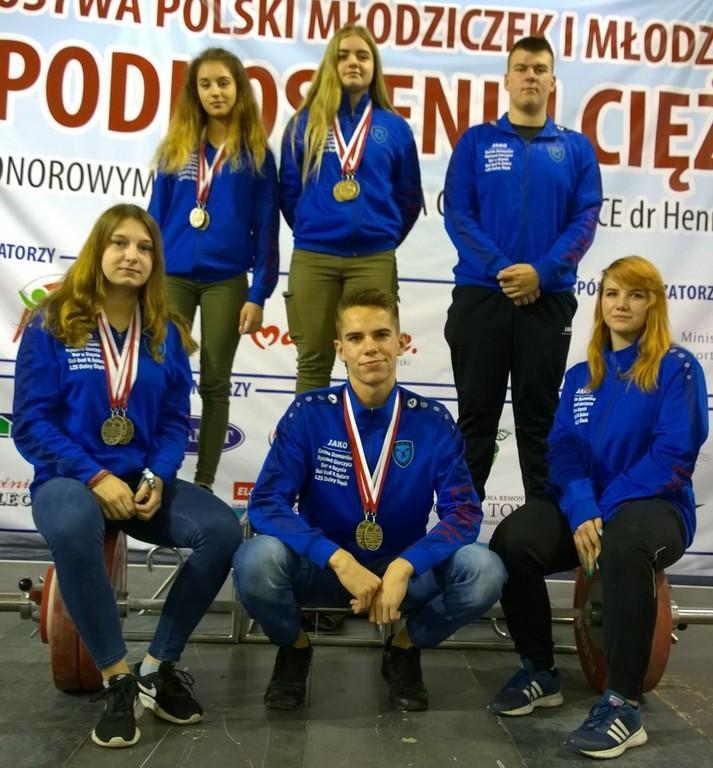 Ciężary, Cztery medale Mistrzostwach Polski - zdjęcie, fotografia